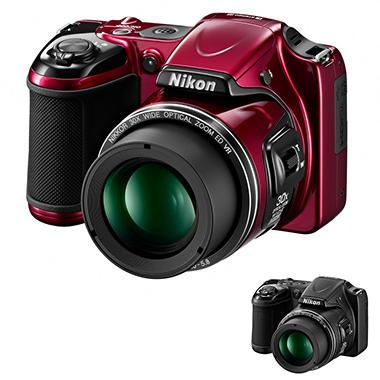 Nikon L820 16MP Long Zoom Digital Camera with 30x Optical Zoom