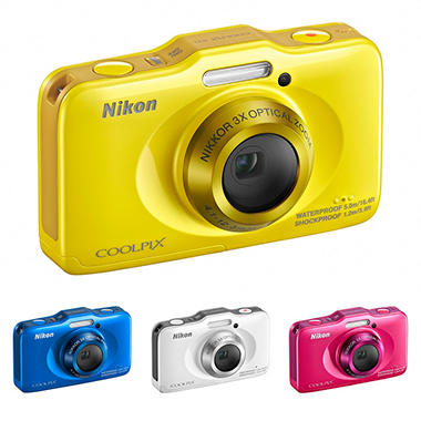 Nikon S31 Rugged Digital Camera