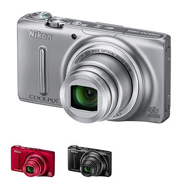 Nikon S9500 18MP Long Zoom Digital Camera with 22x Optical Zoom