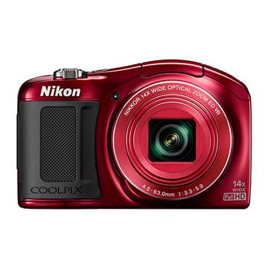Nikon Coolpix L620 18.1MP CMOS HD with 14x Optical Zoom - Various Colors