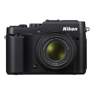 Nikon Coolpix P7800 12.2 MP CMOS HD Digital Camera with 7.1x Optical Zoom