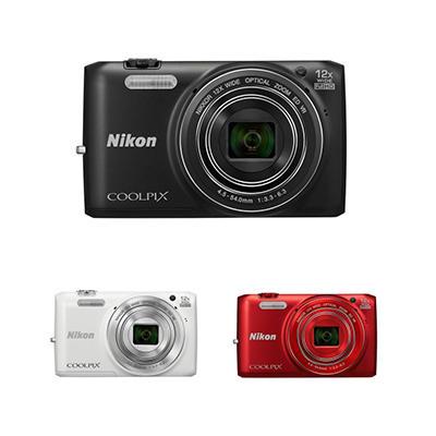 *$149.88 after $70 Tech Savings* Nikon Coolpix S6800 16MP CMOS Digital Camera with 12x Optical Zoom - Various Colors