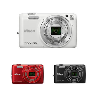 *$149.88 after $70 Tech Savings* Nikon Coolpix S6800 16MP CMOS Digital Camera with 12x Optical Zoom - Various Colors
