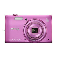 Nikon Coolpix S5300 16MP CMOS Digital Camera with 8x Optical Zoom - Various Colors