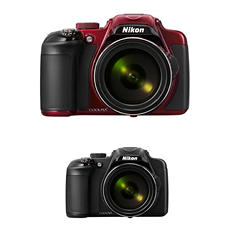 Nikon Coolpix P600 16MP CMOS HD Digital Camera with 60x Optical Zoom - Various Colors