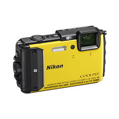 Nikon Coolpix AW130 16MP CMOS Digital Waterproof Camera with 5x Optical Zoom - Various Colors