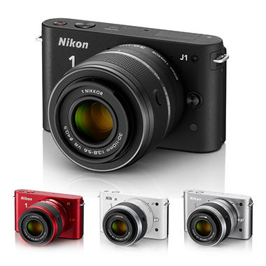 *$399.00 after $100 Instant Savings* Nikon J1 10.1MP Mirrorless Digital Camera with 10-30mm Lens - Various Colors