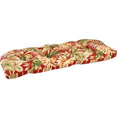 Replacement Wicker Settee Cushion - Granada Pompei/Capulet Stripe Pomepei