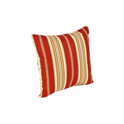 """16"""" Square Toss Pillow - Capulet Stripe Pompei"""