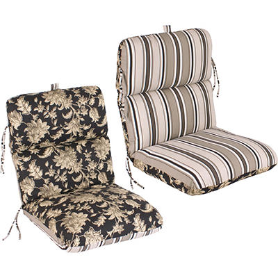 Replacement Patio Chair Cushion - Fallenton Coal/Armona Jet