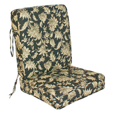 Replacement Deep Seating Cushion Seat and Back - Fallenton Coal