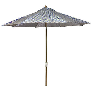 9' Aluminum Market Umbrella - Oskar Sea