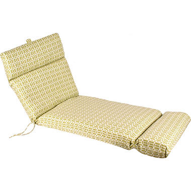 Replacement Patio Chaise Cushion - Felton Cactus