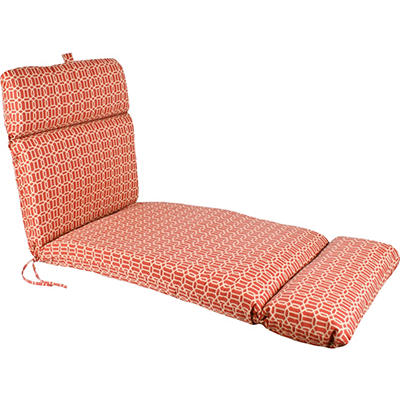Replacement Patio Chaise Cushion - Felton Chili