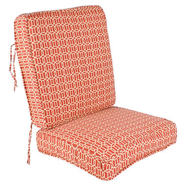 Replacement Deep Seating Cushion Seat and Back - Felton Chili