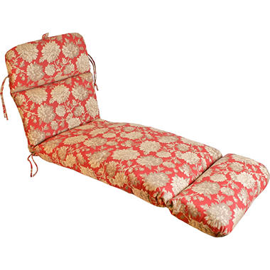 Replacement Patio Chaise Cushion - Newberry Sunset