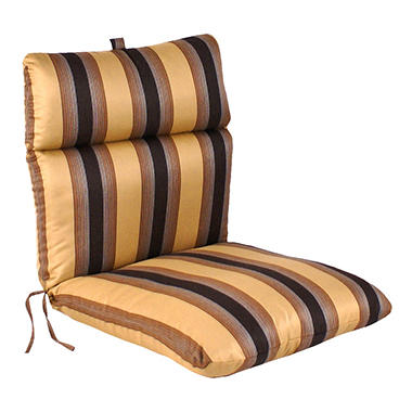Replacement Patio Chair Cushion - Zenith Chestnut