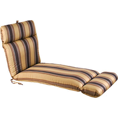 Replacement Patio Chaise Cushion - Zenith Chestnut