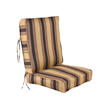 Replacement Deep Seating Cushion Seat and Back - Zenith Chestnut
