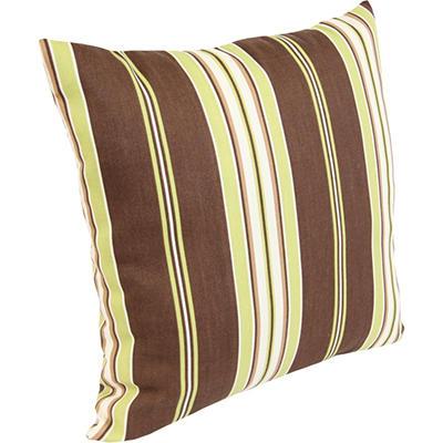 Accent Toss Pillow - Arcadia Stripe Fudge