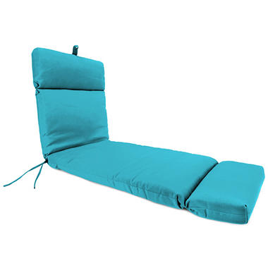 Replacement Chaise Lounge Cushion, Multiple Fabric Choices Available