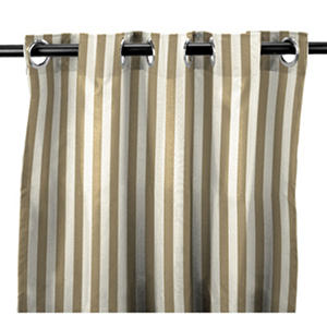 Indoor/Outdoor Curtain Panels in Premium Sunbrella Fabrics® (Various colors and lengths)