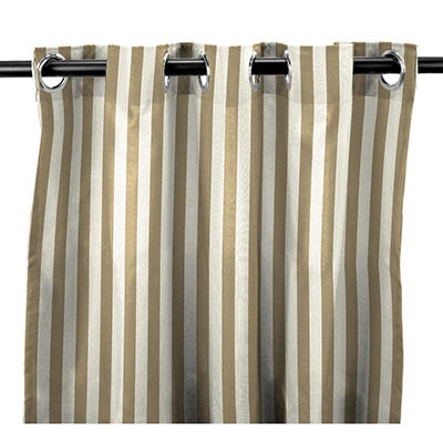 Indoor/Outdoor Curtain Panels in Premium Sunbrella Fabrics® (Various colors and lengths)