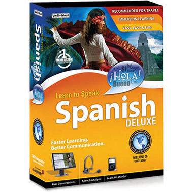 Learn to Speak Spanish Deluxe 10