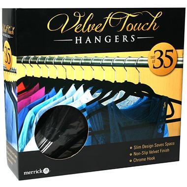 Velvet Touch Suit Hanger - 35 pk.