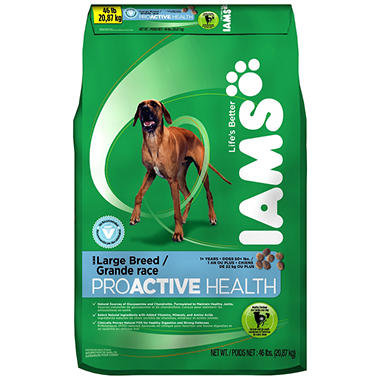 OLD Iams ProActive Health Adult Large Breed Dog Food - 46 lbs.