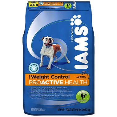 IAMS ProActive Health Adult Weight Control Dog Food - 46 lbs.