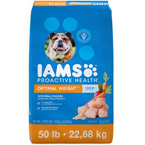 Iams ProActive Health Dog Food, Adult Weight Control (50 lbs.)