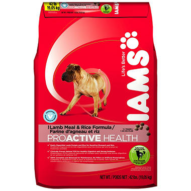 Iams® ProActive Health™ Adult Lamb Meal and Rice Dog Food - 46 lbs.