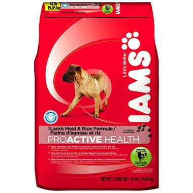 Iams® ProActive Health™ Adult Lamb Meal and Rice Dog Food - 46 lbs.