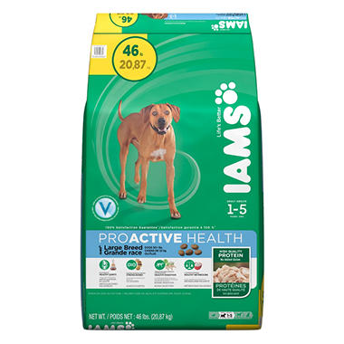 IAMS ProActive Health Adult Large Breed Dog Food - 46 lbs.
