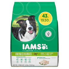 IAMS ProActive Health Adult MiniChunks - 43 lbs.