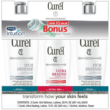 Curél® Lotion - 3 ct.