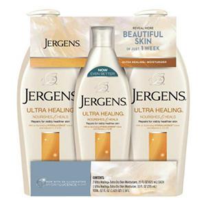 Jergens Ultra Healing Extra Dry Skin Moisturizer (21 fl. oz., 2 pk & 10 fl. oz., 1 pk.)