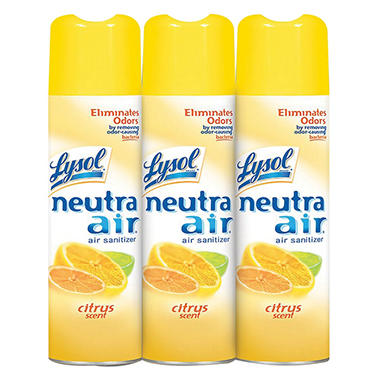 Lysol Neutra Air - Citrus Scent - 16 oz. - 3 pk