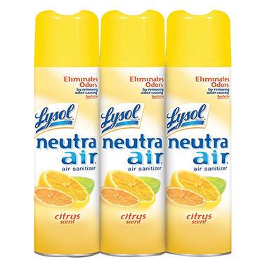 Lysol Neutra Air Citrus Scent  (16 oz..,3 pk.)