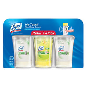 Lysol No-Touch Hand Soap Refills, Variety Pack (8.5 oz., 3 pk.)
