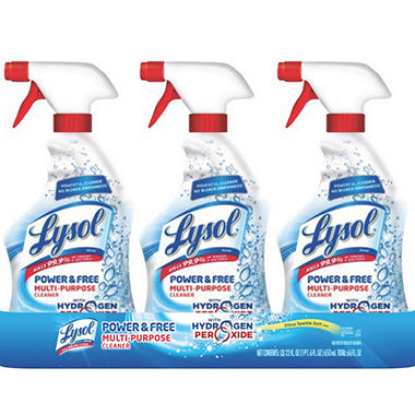 Lysol Power & Free Bathroom Cleaner - 32 oz. - 3 pk.