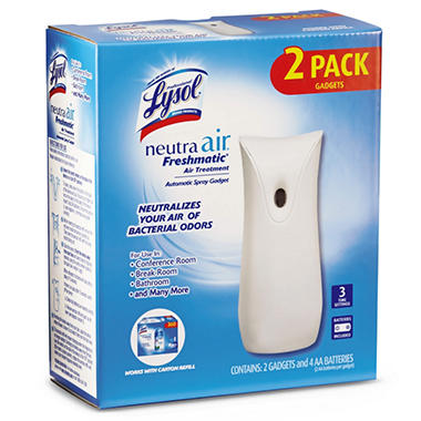 Lysol Neutra Air Freshmatic Automatic Spray Gadget - 2 pk.