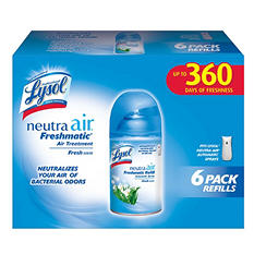 Lysol Neutra Air Freshmatic Refills - Fresh Scent - 6 pk.