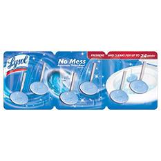 Lysol No-Mess Automatic Toilet Bowl Cleaner, Ocean Fresh Scent (8.46 oz., 6 pk.)