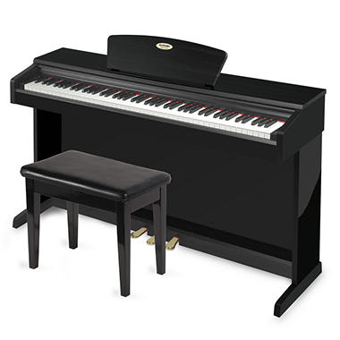 Suzuki HDP Home Digital Piano - Black