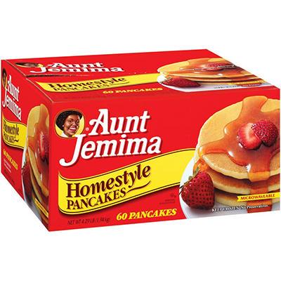 Aunt Jemima® Homestyle Pancakes - 60 ct.