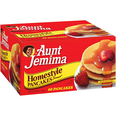 Aunt Jemima Homestyle Pancakes - 60 ct.