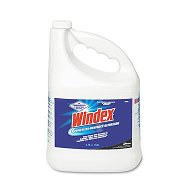Windex Powerized Formula Glass & Surface Cleaner - 1 gal.