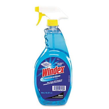 Windex Powerized Formula Glass & Surface Cleaner - 32 oz. Trigger Spray Bottle